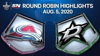 NHL Highlights | Avalanche Vs. Stars – Aug. 05, 2020