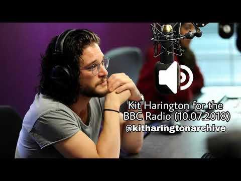 Kit Harington for BBC Radio 2 10 July 2018