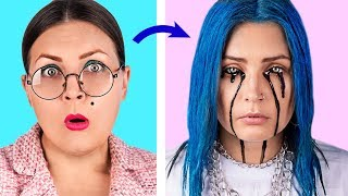 Living Like Billie Eilish For A Day! 11 Billie Eilish Inspired Crafts And Hacks