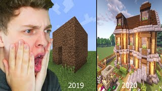 The Evolution of SLOGO in building in Minecraft!!