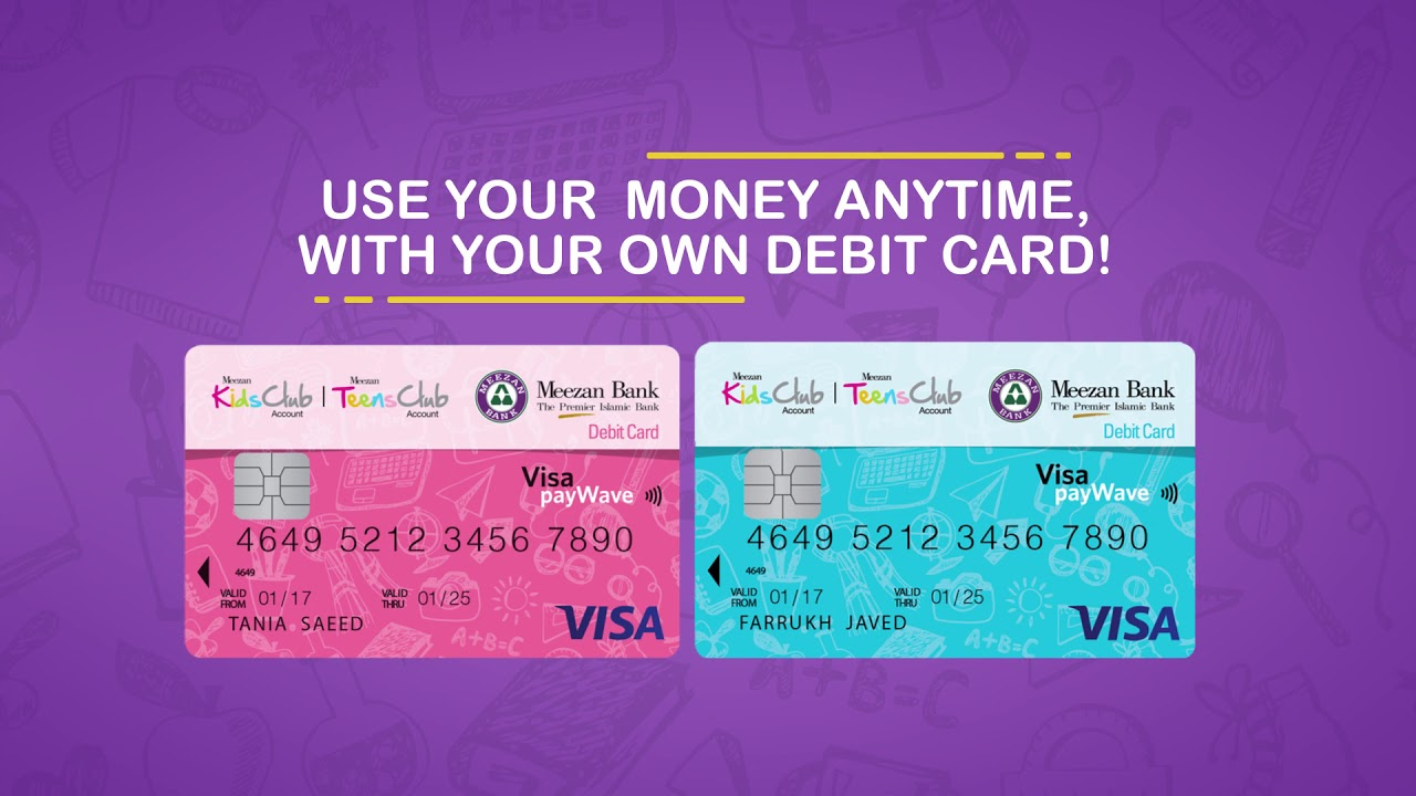Meezan Kids and Teens Club Account | Save your Eidi