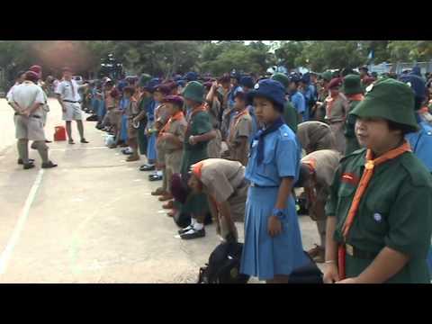 เข้มงวดการแต่งกายชุดลูกเสือ-เนตรนารี ยุวฯ โนนสูงศรีธานี