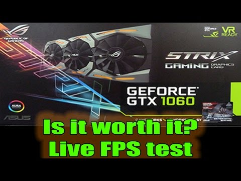New DX12 Driver for GTX 1060 6GB Live FPS Test 1080p i5 7600k