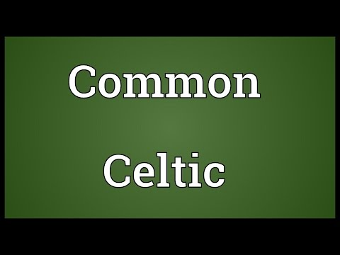 Common Celtic Meaning