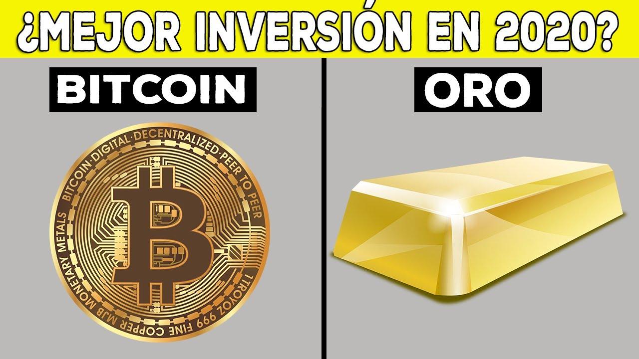 Oro y Bitcoin ¿Inversión estrella en 2020? 4 Consejos para invertir