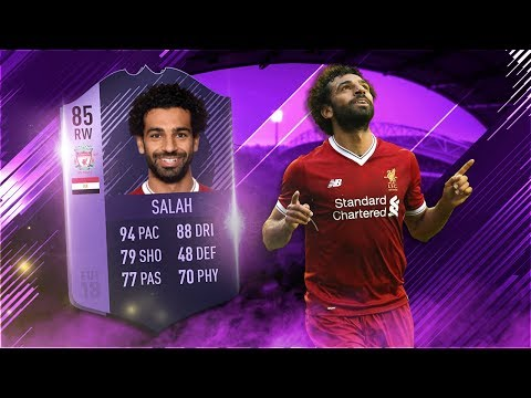 FIFA 18 Hero Salah Review - Purple Hero Mohamed Salah Player Review - FIFA 18 ULTIMATE TEAM GAMEPLAY