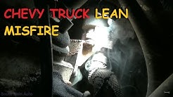 Chevrolet / GMC - Rough Running, Lean, Misfire
