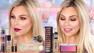 testing out new essence makeup
