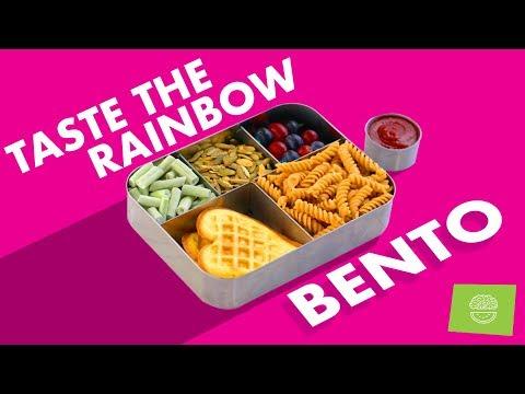 Picky Eater Bento #4! Rainbow Back To School Recipes!