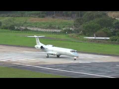 Embraer ERJ-145ER C-99A FAB2524 takeoff at SBBH/PLU