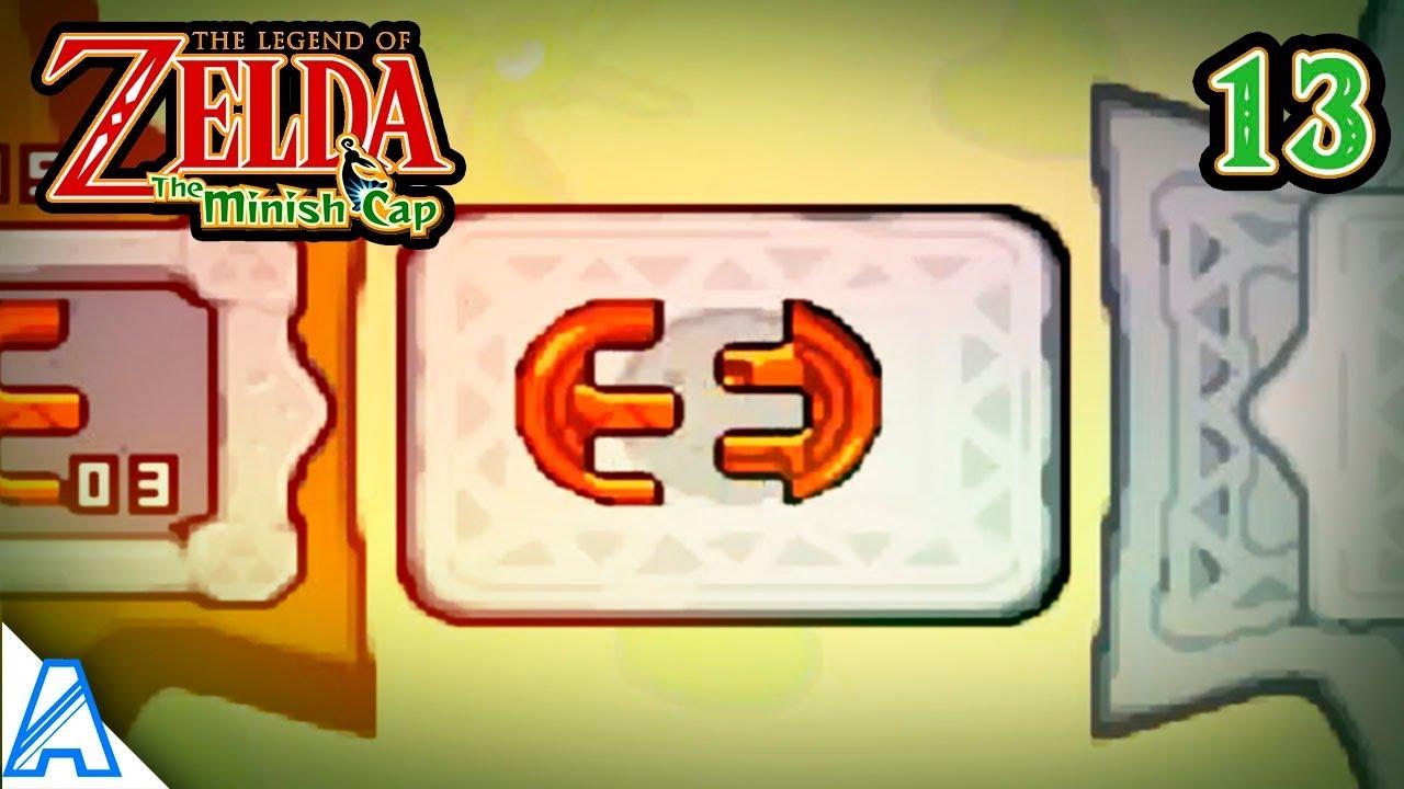 The Legend Of Zelda The Minish Cap 13 Uniendo Piedras De La Fortuna Parte 2 Youtube