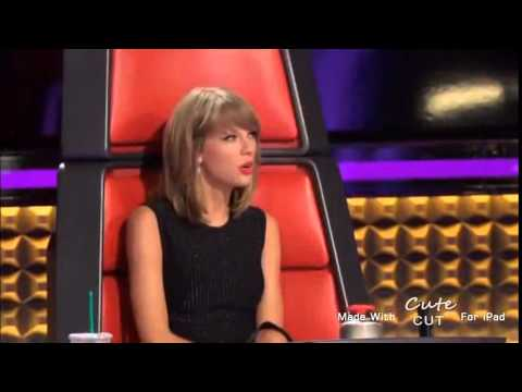 Taylor Swift on the voice ft Ellen Degeneres and Selena Gomez