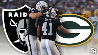 Green Bay Packers vs Oakland Raiders Preseason Recap