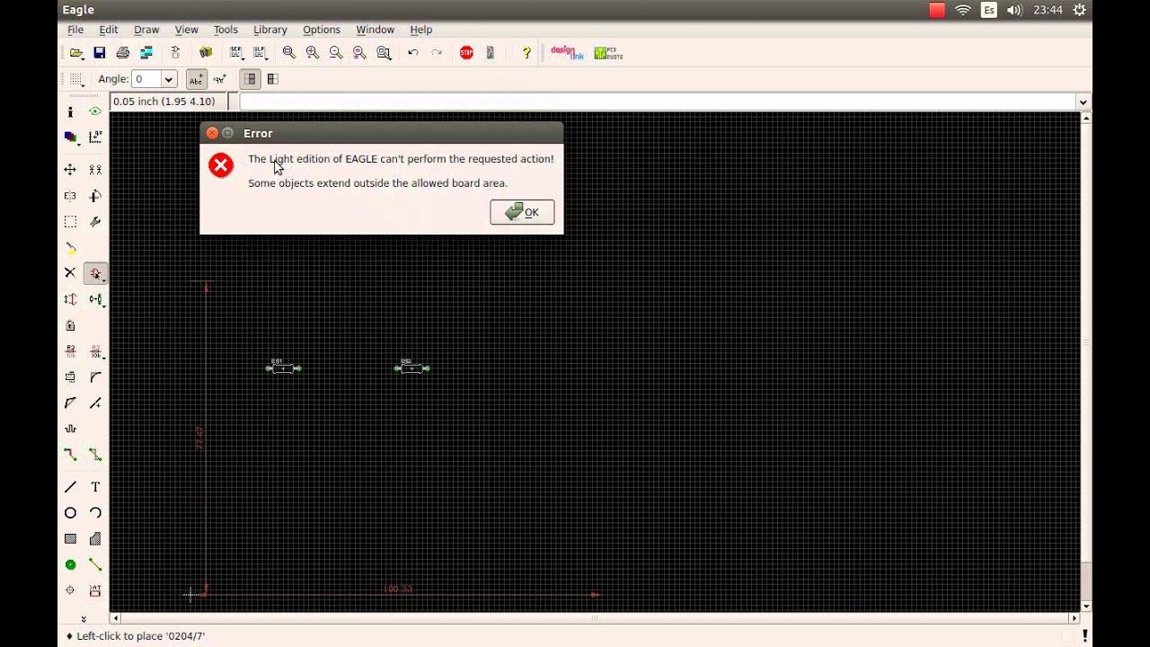 Instalacion Eagle 6.5 Parte 1 - YouTube