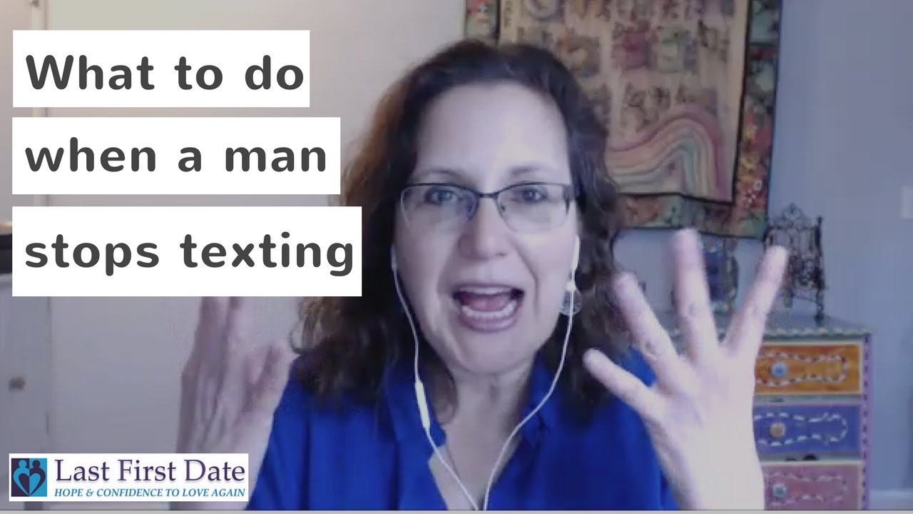 Dating Youre When Texting A Guy Stops