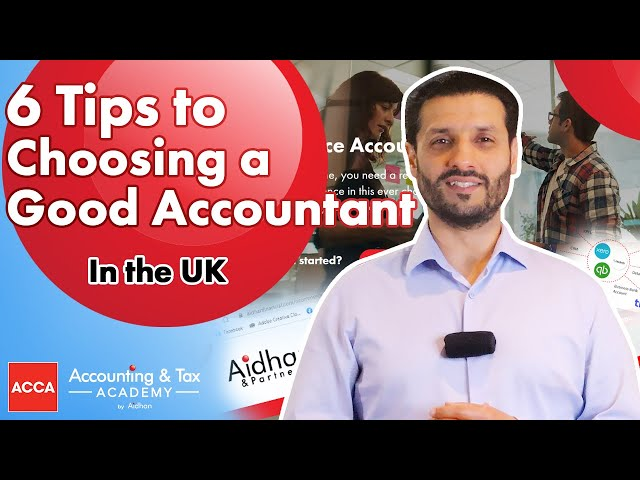 Finding an Accountant - 6 Tips to Help You