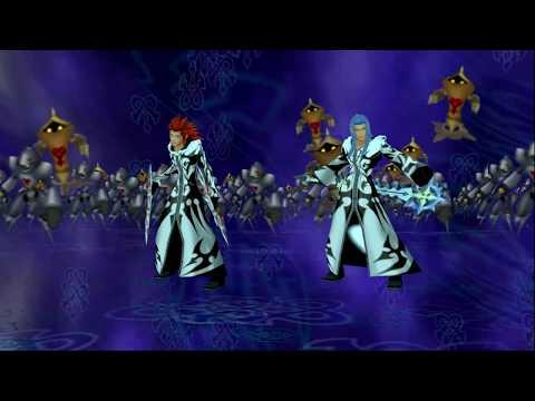 [KH2FM] Immolation Twilight Axel and Celestial Twilight Saïx vs 1000 Heartless
