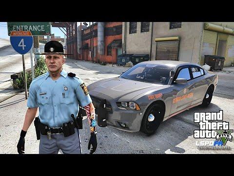 LSPDFR #460 GSP !! (GTA 5 REAL LIFE POLICE MOD)