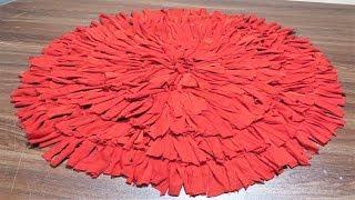 बाज़ार के पायदान फीके लगेंगे इस सुन्दर पायदान के सामने सिर्फ 10 मिनट में बनाएं door mat