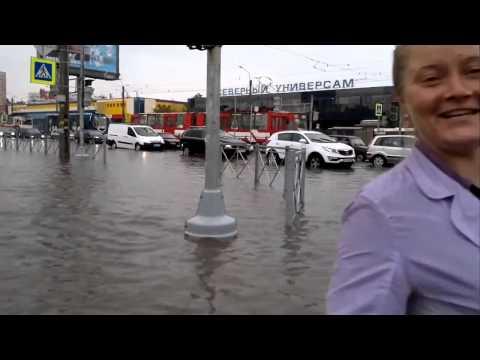 Наводнение в Санкт Петербурге! Потоп в Питере видео  Потоп в Питере сегодня