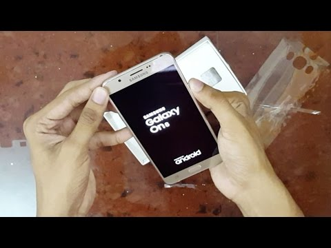 Samsung Galaxy On8 Unboxing and Overview