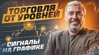 Торговля от уровней. Сигналы на графике. Семинар успешного трейдера Александра Герчика в Москве 2017