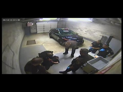 Jail video shows officer slamming handcuffed woman