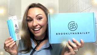 GET READY WITH ME | BROOKLYN&BAILEY MASCARA REVIEW