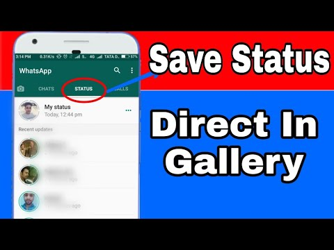 How To Download Whatsapp Status Video ||...