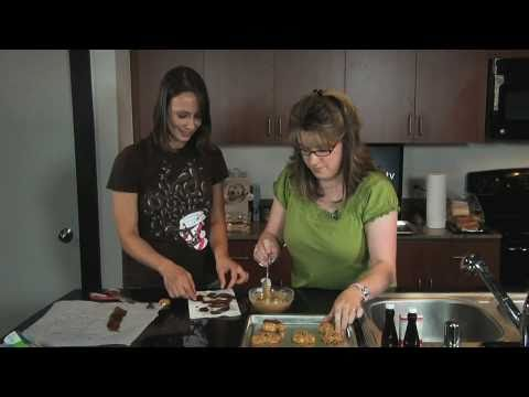 How To Make Chocolate Chip Bacon Cookies | Cooking With Kat