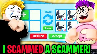 Can We SCAM THE SCAMMER To Get Our DREAM PETS in ADOPT ME!? (CRAZIEST PLOT TWIST EVER)