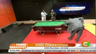 Power Breakfast: Pool Competition
