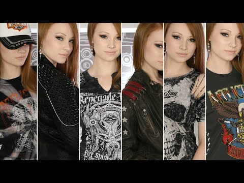 Rocker Clothing Haul ft. Affliction Clothing Brand!