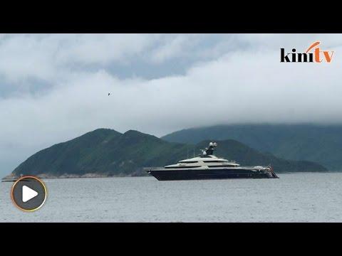 Kapal layar 'super mewah' dikaitkan Jho Low belayar ke Hong Kong