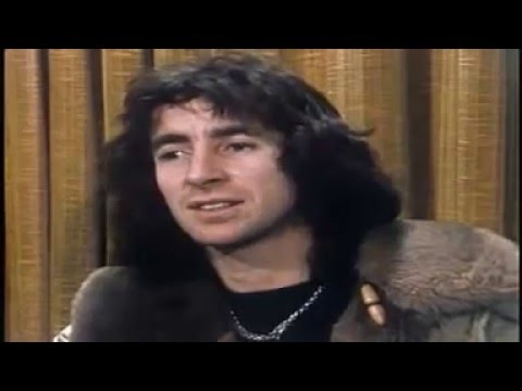 Bon Scott interview on Countdown 11-1-77