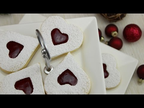 Punsch-Vanille-Plätzchen (ohne Alkohol!) | Spitzbuben Plätzchen Rezept