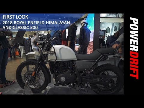 2018 Royal Enfield Himalayan and Classic 500 : EICMA 2017 : PowerDrift