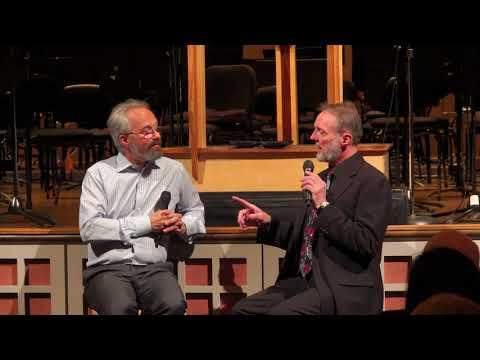Concert Conversation, 19 May 2018, Carlos and Robert, Mahler 7