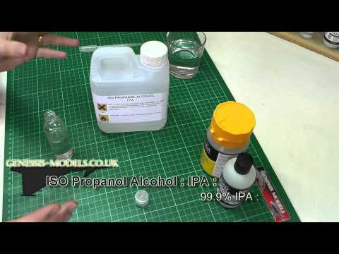Acrylic Home Brew Thinners : Tutorial