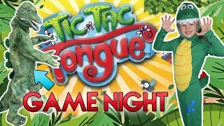 Tic Tac Tongue - Family Game Night