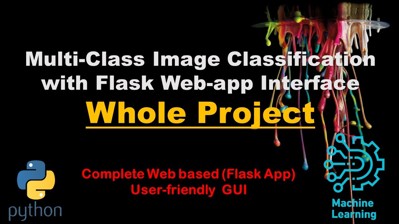 Multi-Class Image Classification Convolutional Neural Network with Flask App | Complete Project