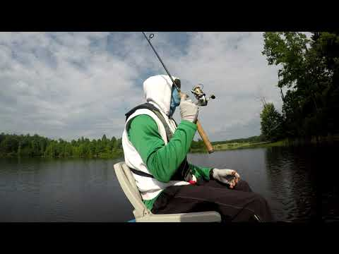 Fishing Tips On Rod Movement From Hunting Run Reservoir