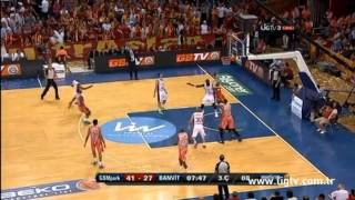 Galatasaray MP 76-58 Banvit Macin ozeti (sampiyonluk maci)