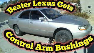 Beater Lexus Gets New Lower Control Arm Bushings thumbnail