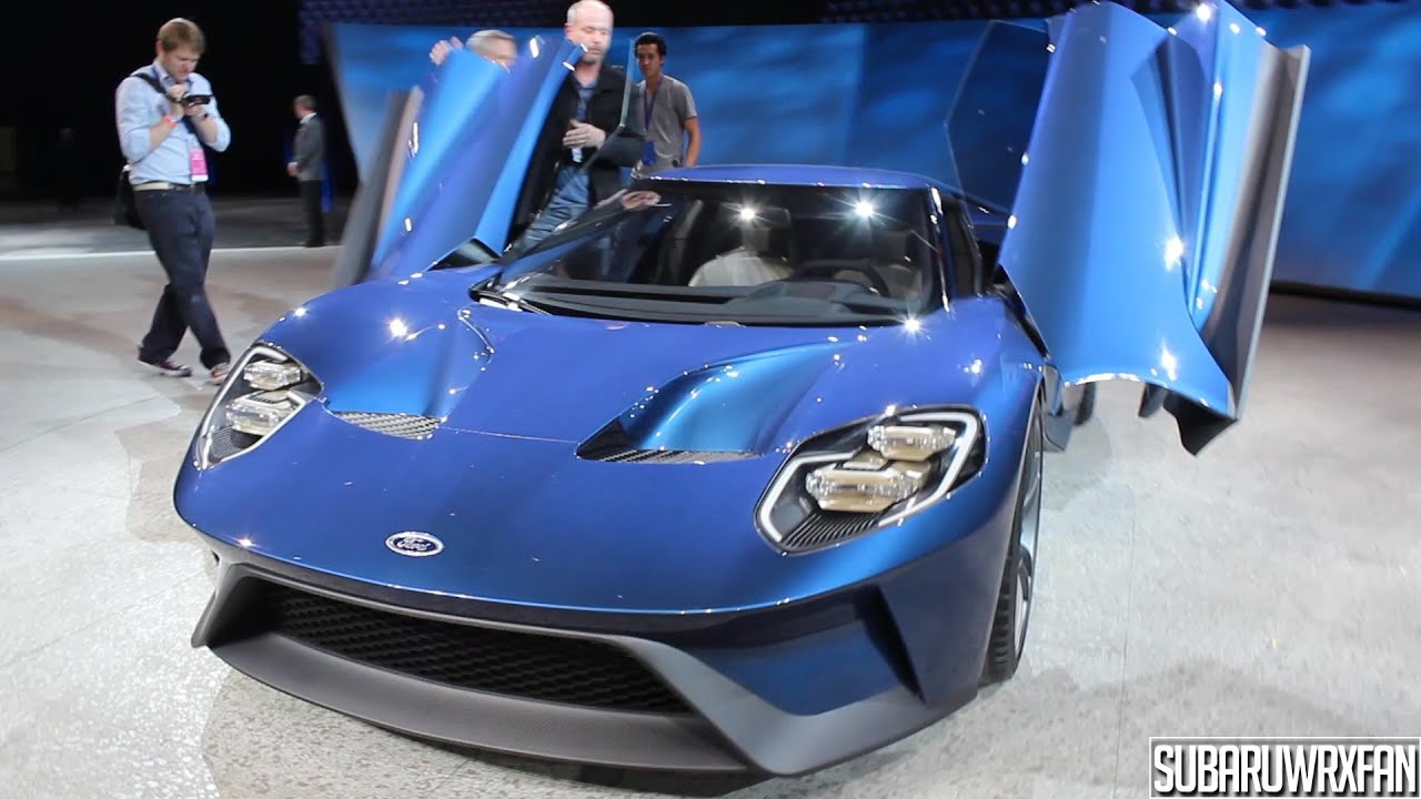 & 2017 Ford GT Detailed Look and Discussion! - YouTube