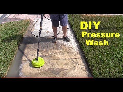 Cleaning Black Stuff Off Sidewalks + Lawn Tips