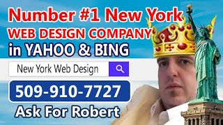 New York Web Design Page #1 Yahoo.com Search Term
