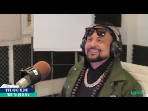 Sean Paul singing live AT G987FM (Boasty / When It Comes To You / Buss A Bubble)