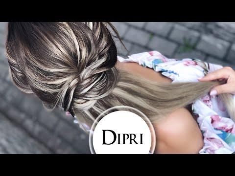 ☆ Красивая Прическа на каждый день | Как делать Прически пошагово | Волосы на капсулах | Хвост Жгуты
