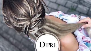 ☆ Хвост 2019 | Красивая Прическа на каждый день | Как делать Прически пошагово | Волосы на капсулах